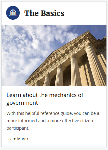 Mechanics of Government